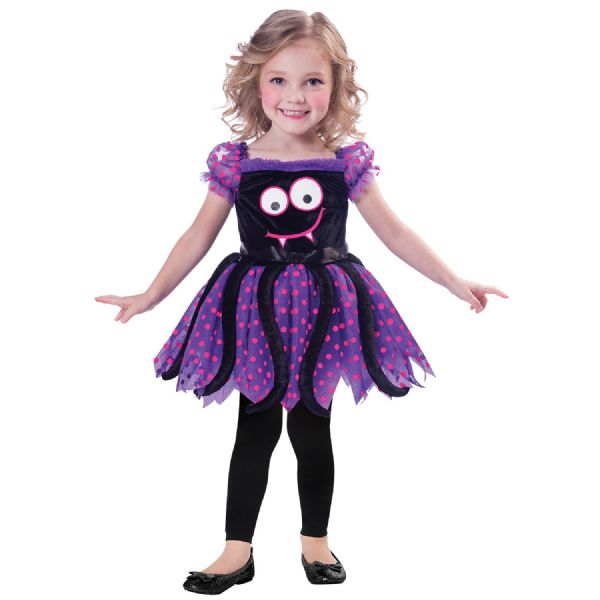 Cute Spider Costume Toddlers Fancy Dress Outfit